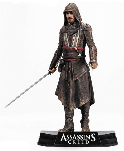 COLOR TOPS BLUE ASSASSINS CREED MOVIE AGUILAR ACTIONFIGUR