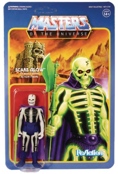 MASTERS OF THE UNIVERSE 10 cm REACTION WAVE 4 KOMPLETT-SET