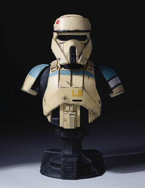 STAR WARS ROGUE ONE SHORETROOPER CLASSIC BÜSTE