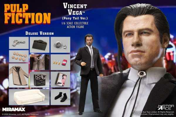 VORBESTELLUNG ! Pulp Fiction My Favourite Movie 1/6 Vincent Vega 2.0 Deluxe 30 cm Actionfigur