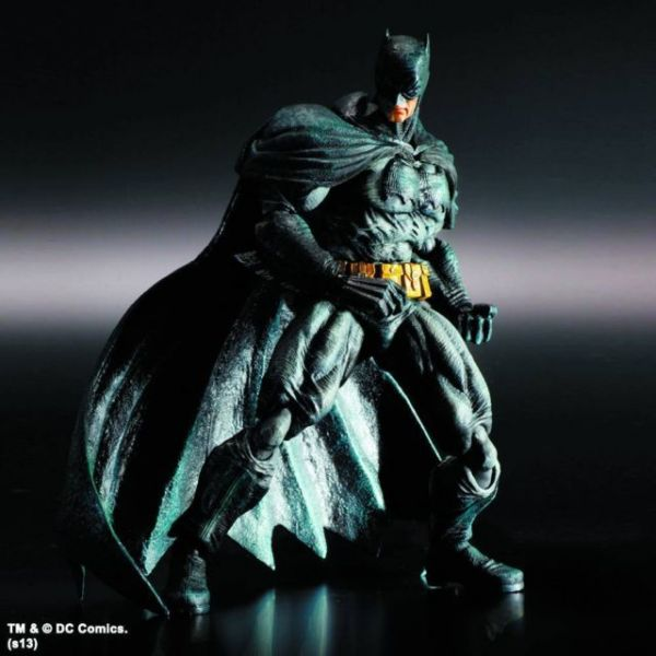 BATMAN ARKHAM CITY PLAY ARTS KAI DARK KNIGHT RETURNS VERSION ACTIONFIGUR