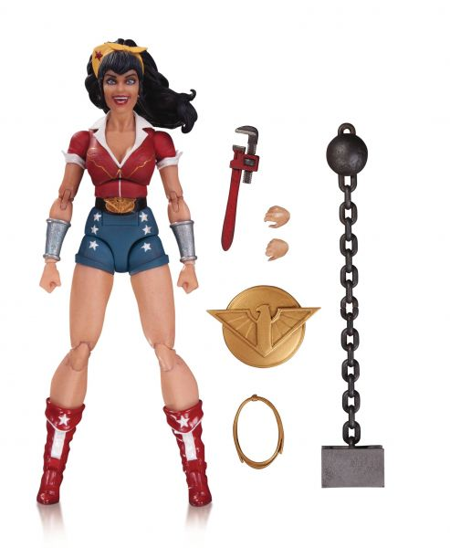 DC DESIGNER SERIES BOMBSHELLS WONDER WOMAN ACTIONFIGUR