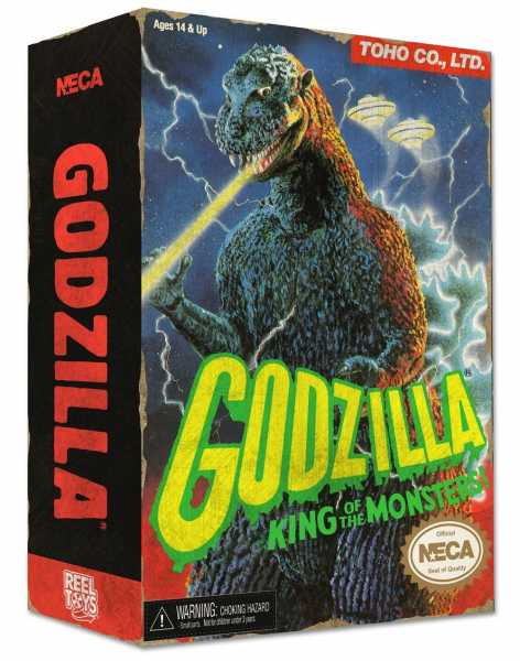 GODZILLA 1988 VIDEO GAME APPEARANCE HEAD TO TAIL 30 cm ACTIONFIGUR