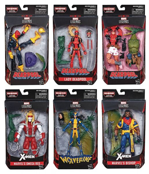 DEADPOOL LEGENDS SAURON KOMPLETTE ACTIONFIGUREN-SERIE