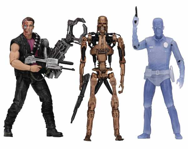 TERMINATOR KENNER TRIBUTE 17,5 cm ACTIONFIGUREN-SERIE