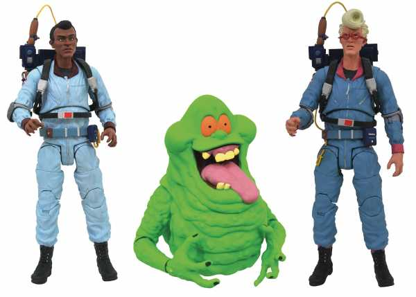 GHOSTBUSTERS SELECT SERIES 9 REAL GHOSTBUSTERS 3ER SET