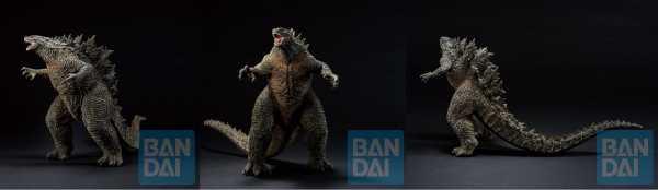 VORBESTELLUNG ! Godzilla vs. Kong Ichibansho Godzilla 20 cm PVC Statue