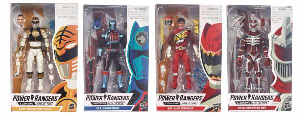 POWER RANGERS LIGHTNING SERIE KOMPLETT