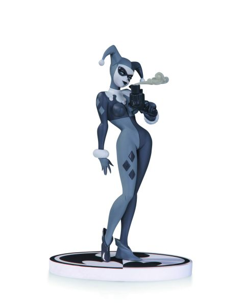 BATMAN BLACK AND WHITE STATUE HARLEY QUINN BY TIMM 2ND EDITION