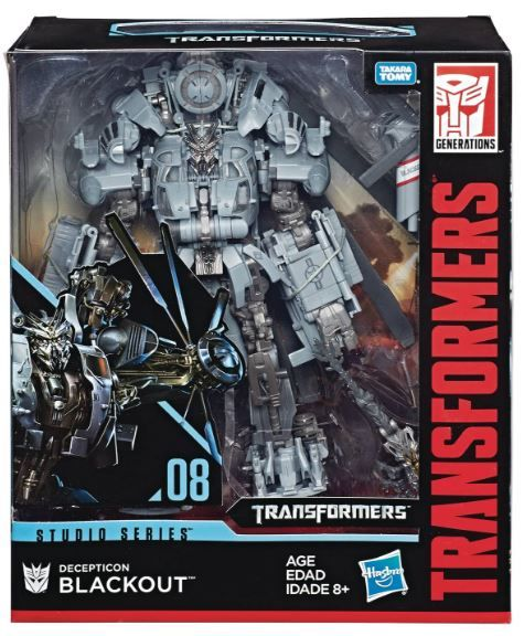 TRANSFORMERS GENERATIONS STUDIO SERIES LEADER CLASS BLACKOUT ACTIONFIGUR