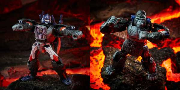 Transformers War for Cybertron Kingdom Voyager Optimus Primal Actionfigur
