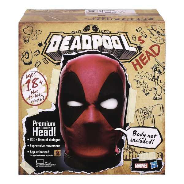 VORBESTELLUNG ! Marvel Legends Interactive Electronic Deadpool's Head Büste