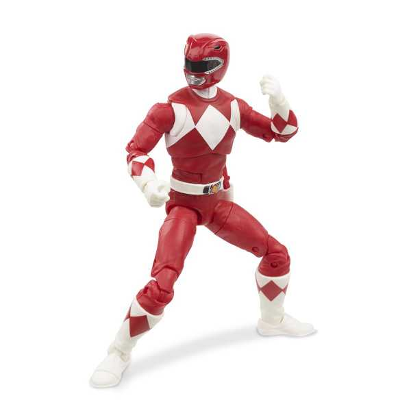 Power Rangers Lightning Collection Mighty Morphin Red Ranger 6 Inch Actionfigur