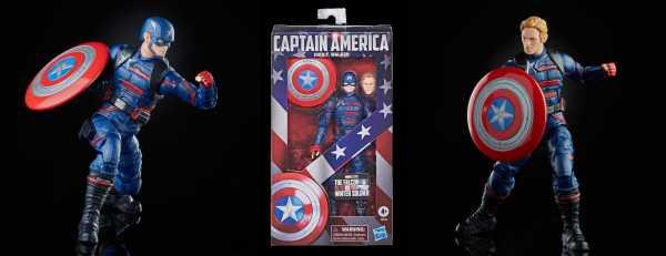 VORBESTELLUNG ! Falcon Winter Soldier Marvel Legends Captain America (John F. Walker) Actionfigur