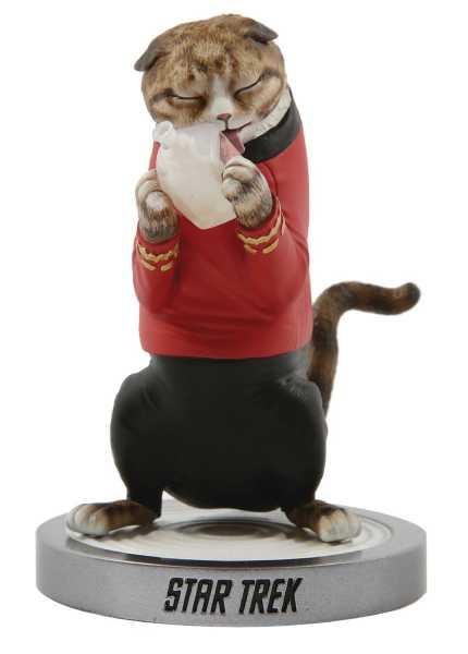 VORBESTELLUNG ! STAR TREK THE ORIGINAL SERIES SCOTTY CAT POLYSTONE STATUE