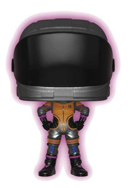 POP GAMES FORTNITE SEASON 2 DARK VANGUARD (GLOWS IN THE DARK) VINYL FIGUR