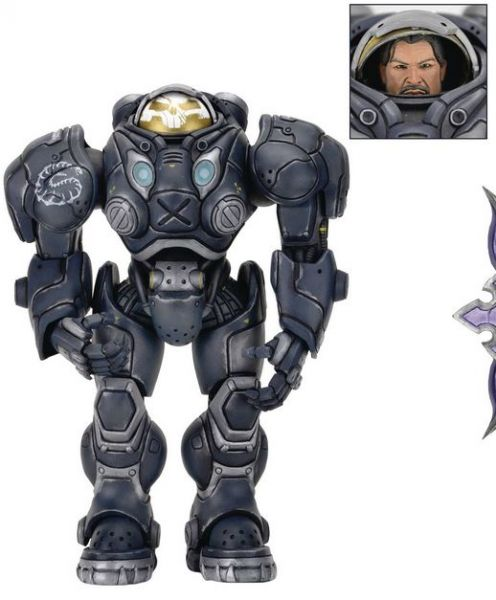 HEROES OF THE STORM SERIES 3 RAYNOR (STARCRAFT) 17,5 cm ACTIONFIGUR