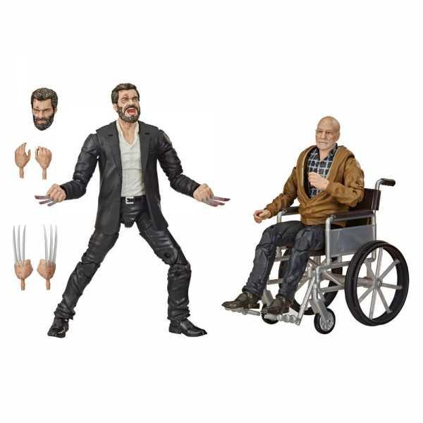 Marvel Legends Series Logan & Charles Xavier Exclusive 15 cm Actionfiguren 2er-Pack