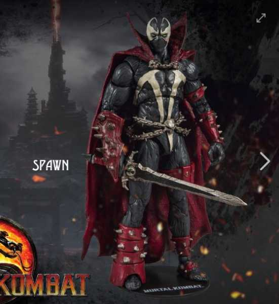 MORTAL KOMBAT WAVE 2 SPAWN 7 INCH SCALE ACTIONFIGUR