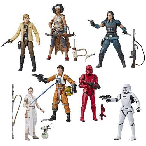 Star Wars The Black Series 6 Inch Actionfiguren Wave 2 Komplett-Set