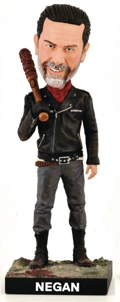 WALKING DEAD NEGAN BOBBLE HEAD FIGUR