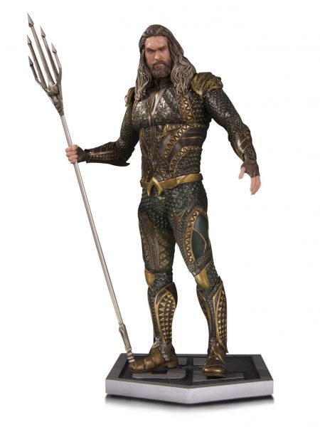 JUSTICE LEAGUE MOVIE THE AQUAMAN STATUE