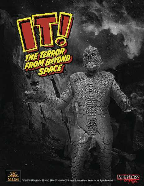 IT TERROR FROM BEYOND SPACE B&W 10 cm RETRO ACTIONFIGUR