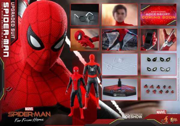 VORBESTELLUNG ! Spider-Man: Far From Home Movie Masterpiece Actionfigur 1/6 Spider-Man Upgraded Suit