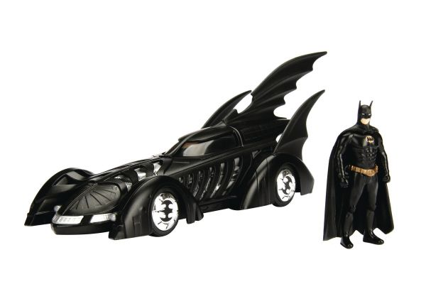 METALS BATMAN FOREVER BATMOBILE 1/24 VEHICLE