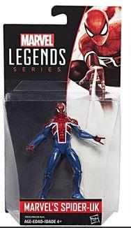 MARVEL 10 cm LEGENDS UK SPIDER-MAN ACTIONFIGUR