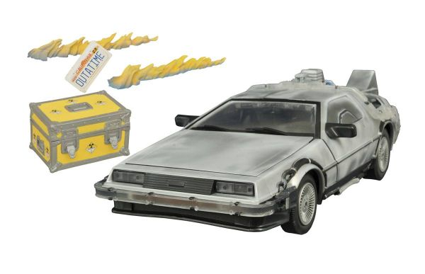 BACK TO THE FUTURE ICED TIME MACHINE COLLECTOR SET