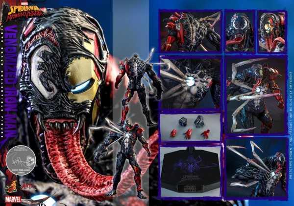 VORBESTELLUNG ! Spider-Man: Maximum Venom Artist Collection 1/6 Venomized Iron Man 35 cm Actionfigur