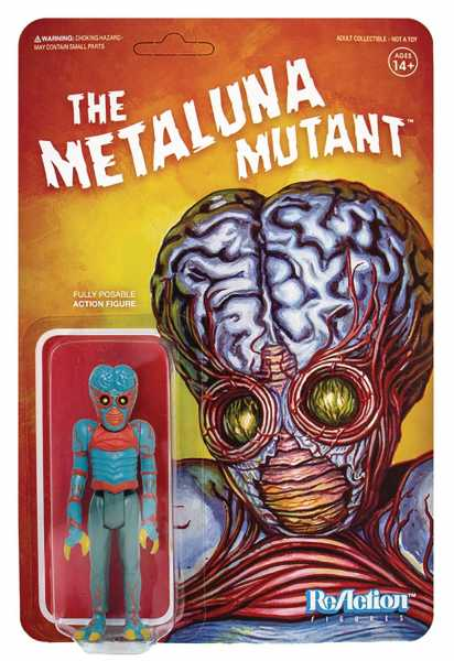 UNIVERSAL MONSTERS METALUNA MUTANT REACTION ACTIONFIGUR