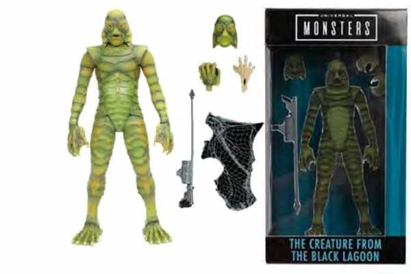 VORBESTELLUNG ! UNIVERSAL MONSTERS CREATURE FROM THE BLACK LAGOON ACTIONFIGUR