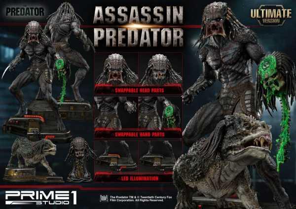 VORBESTELLUNG ! Predator Upgrade 1/4 Assassin Predator 93 cm Statue Ultimate Version