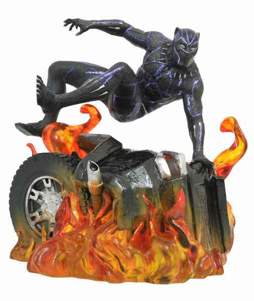 MARVEL GALLERY BLACK PANTHER MOVIE VERSION 2 PVC STATUE