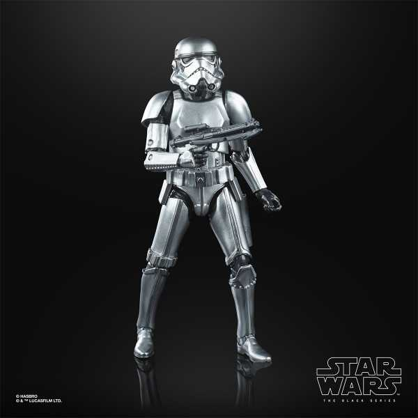 VORBESTELLUNG ! Star Wars The Black Series Carbonized Stormtrooper 6 Inch Actionfigur