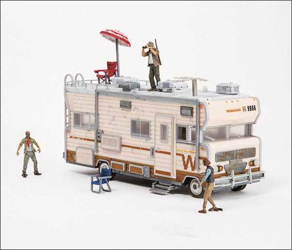 WALKING DEAD TV BUILD SET DALES RV