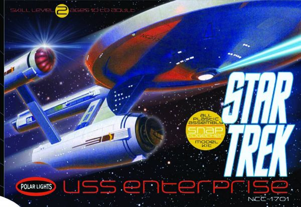 STAR TREK THE ORIGINAL SERIES 1/1000 USS ENTERPRISE NCC-1701 MODELLBAUSATZ