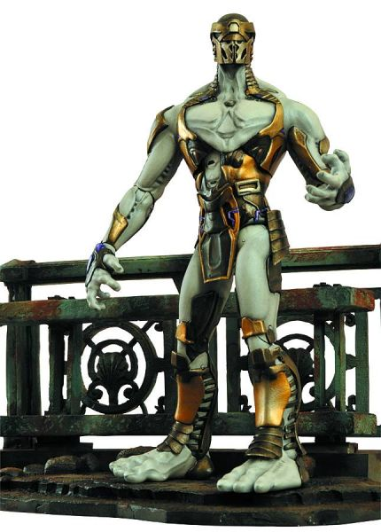 MARVEL SELECT AVENGERS MOVIE ENEMY CHITAURI FOOTSOLDIER ACTIONFIGUR
