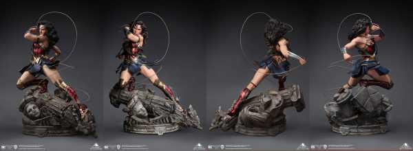 AUF ANFRAGE ! Wonder Woman 1/4 Wonder Woman 47 cm Comic Statue Early Bird Version