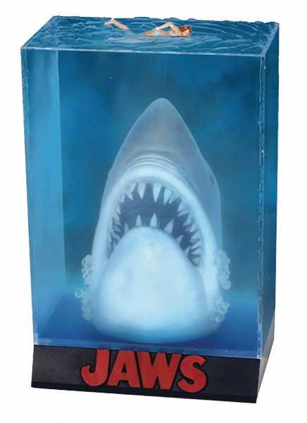 VORBESTELLUNG ! JAWS 3D MOVIE POSTER DIORAMA