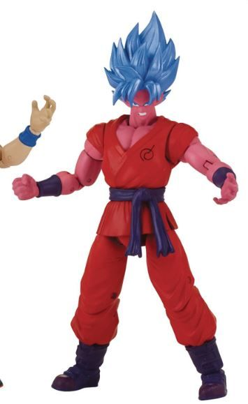 DRAGON BALL SUPER DRAGON STARS SUPER SAIYAN BLUE KAIOKEN X 10 GOKU ACTIONFIGUR