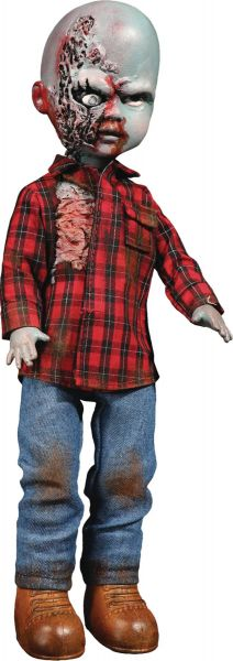 LIVING DEAD DOLLS DAWN OF THE DEAD PLAID SHIRT ZOMBIE DOLL