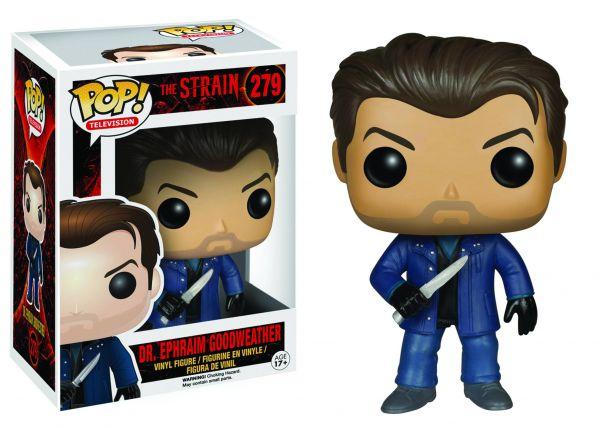 POP THE STRAIN DR EPHRAIM GOODWEATHER VINYL FIGUR defekte Verpackung