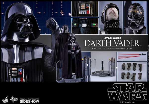 VORBESTELLUNG ! Star Wars Episode 5 40th Anniversary Collection 1/6 Darth Vader 35 cm Actionfigur