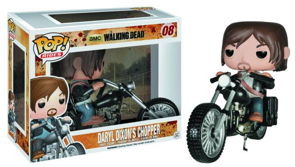 POP RIDES WALKING DEAD DARYLS BIKE VINYL FIGUR