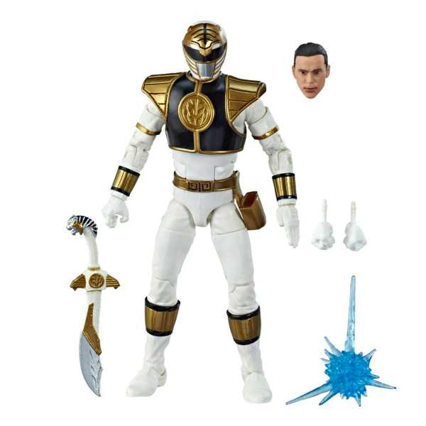 Power Rangers Lightning Collection Mighty Morphin White Ranger 6 Inch Actionfigur