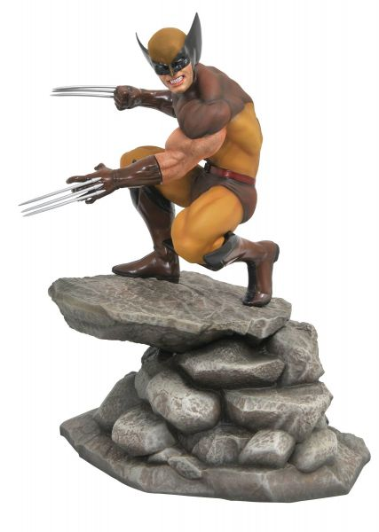 MARVEL GALLERY WOLVERINE COMIC PVC STATUE
