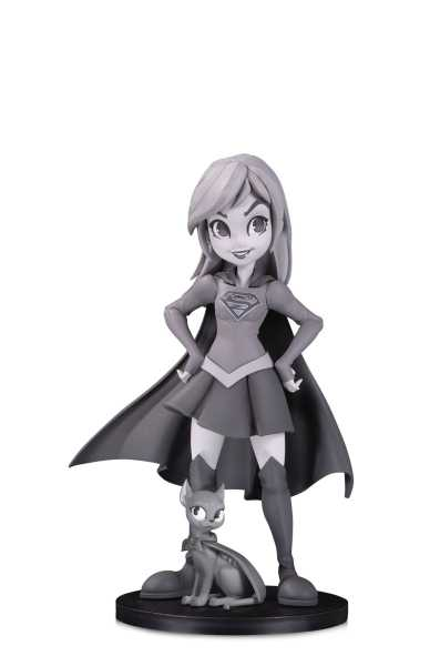 DC ARTISTS ALLEY SUPERGIRL BLACK & WHITE BY ZULLO PVC FIGUR